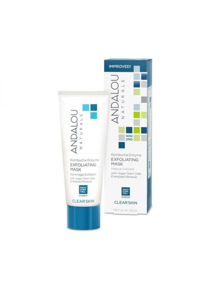 Andalou - PEAU GRASSE - Masque Exfoliant aux Enzymes 53 ml