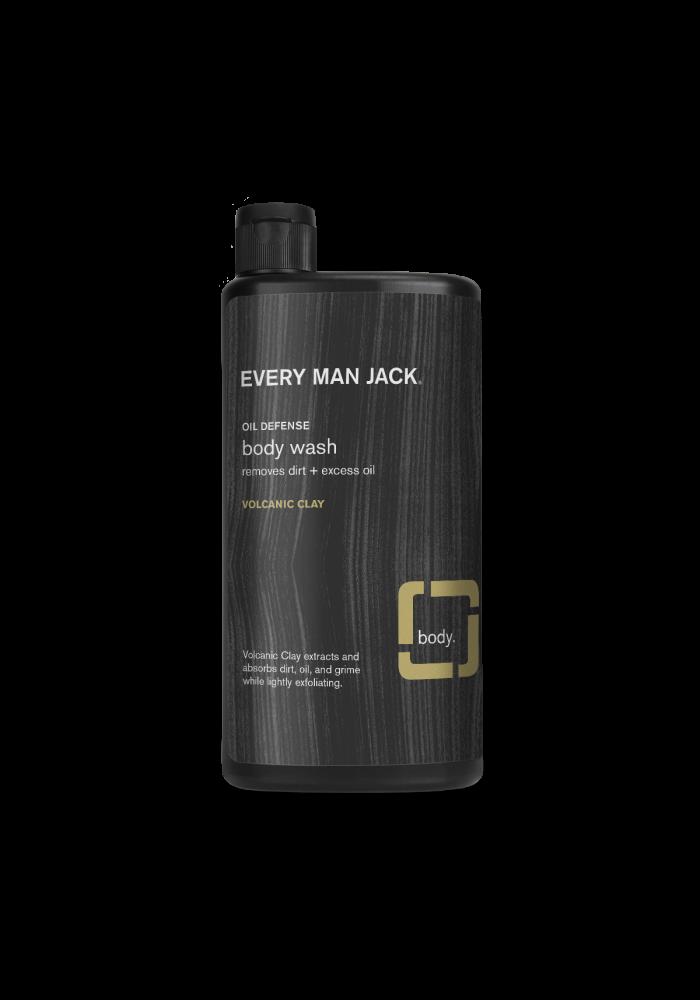 Every Man Jack - Body wash Volcanic clay anti-huile 500 ml