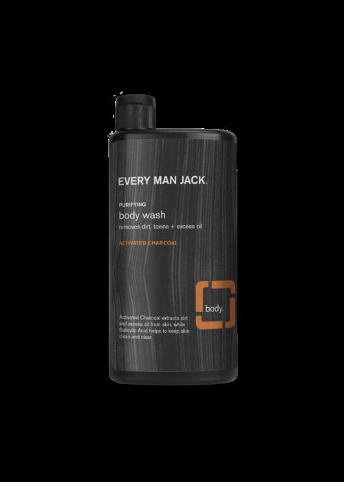 Every Man Jack Every Man Jack - Body wash charbon activé - éclaircir la peau 500 ml