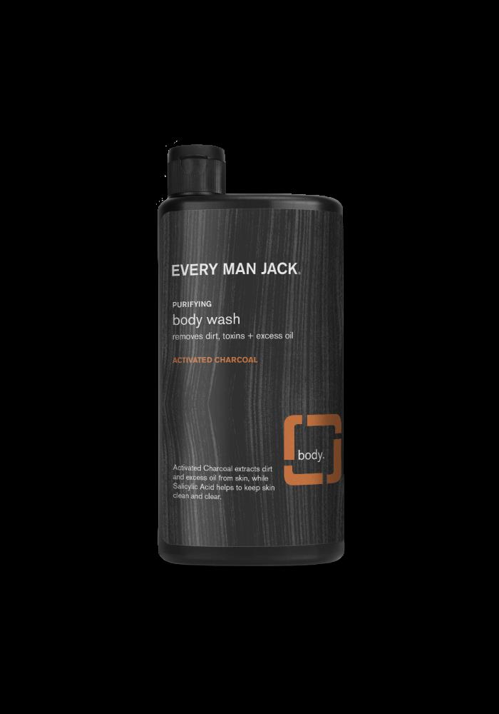 Every Man Jack - Body wash charbon activé - éclaircir la peau 500 ml