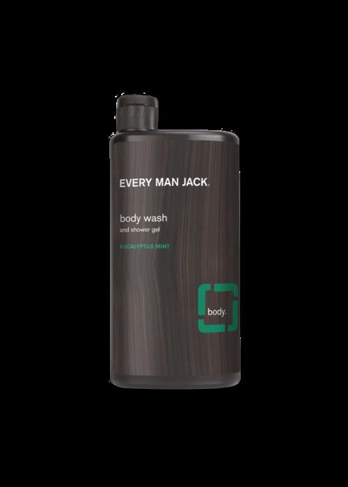 Every Man Jack Every Man Jack - Gel nettoyant pour le corps -  Menthe et eucalyptus  500 ml
