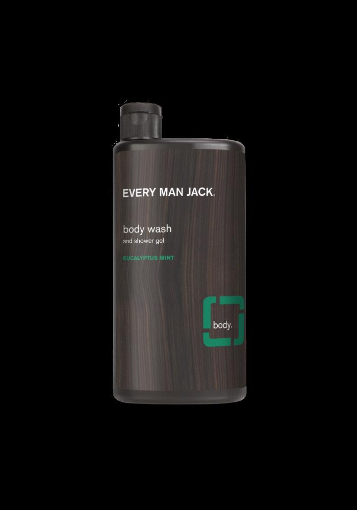Every Man Jack - Gel nettoyant pour le corps -  Menthe et eucalyptus  500 ml