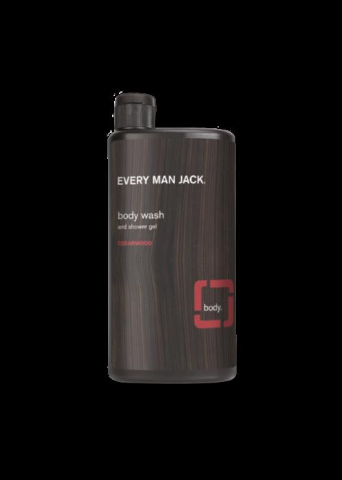 Every Man Jack Every Man Jack - Gel nettoyant pour le corps - Bois de cèdre  500 ml