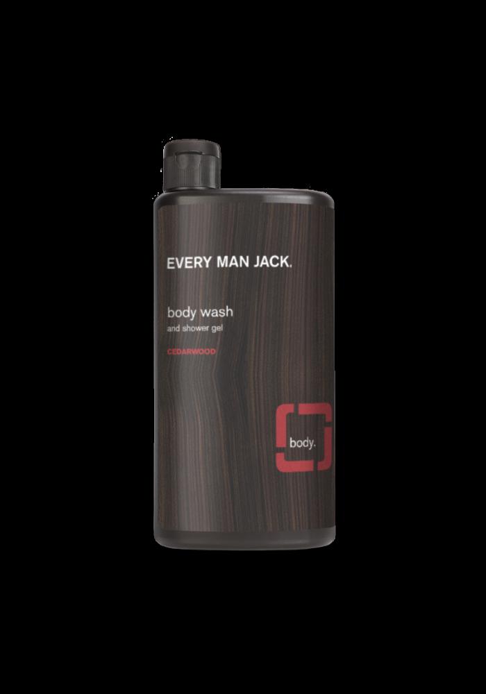 Every Man Jack - Gel nettoyant pour le corps - Bois de cèdre  500 ml