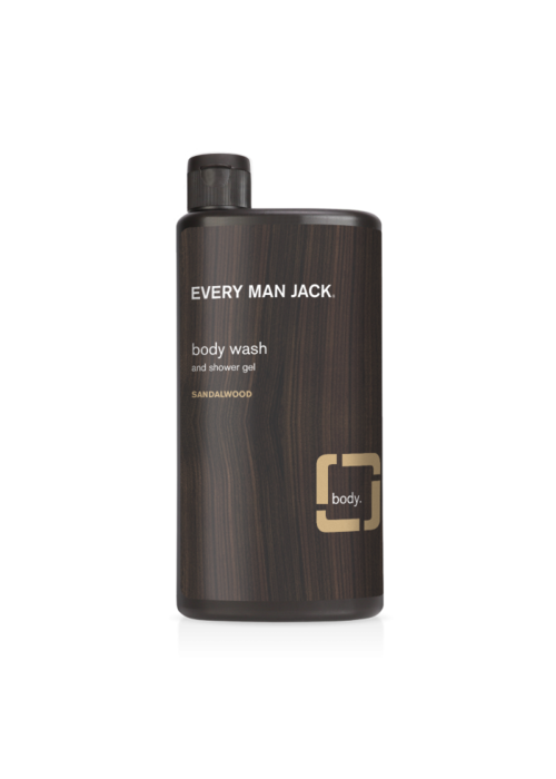 Every Man Jack Every Man Jack - Gel nettoyant pour le corps - Sandalwood 500 ml