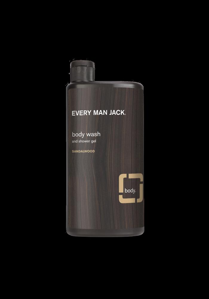 Every Man Jack - Gel nettoyant pour le corps - Sandalwood 500 ml