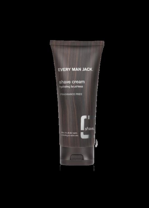 Every Man Jack Every Man Jack - Crème à raser - Sans parfum  200ml