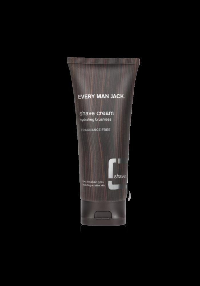 Every Man Jack - Crème à raser - Sans parfum  200ml