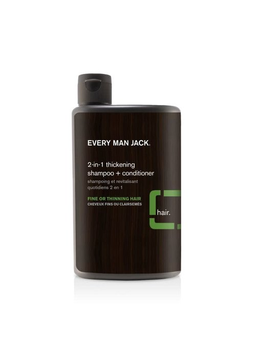Every Man Jack Every Man Jack - Shampoing et Revitalisant  2 en 1 - Tea Tree tout type cheveux  400 ml