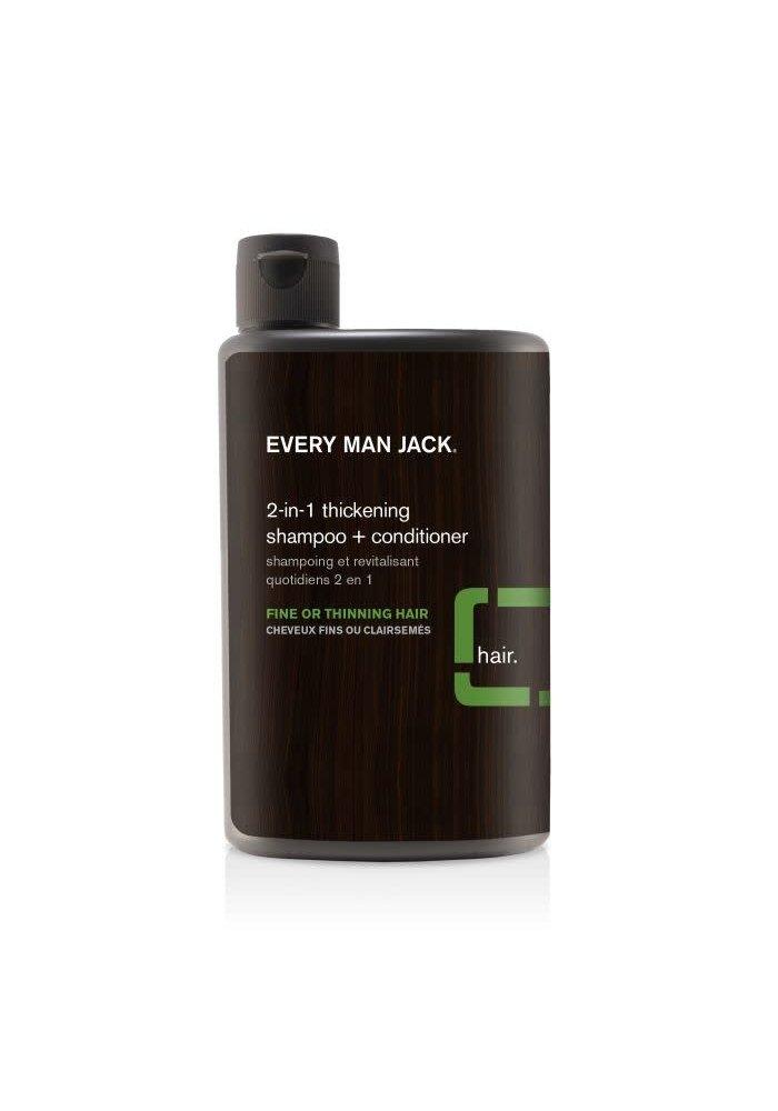 Every Man Jack - Shampoing et Revitalisant  2 en 1 - Tea Tree tout type cheveux  400 ml