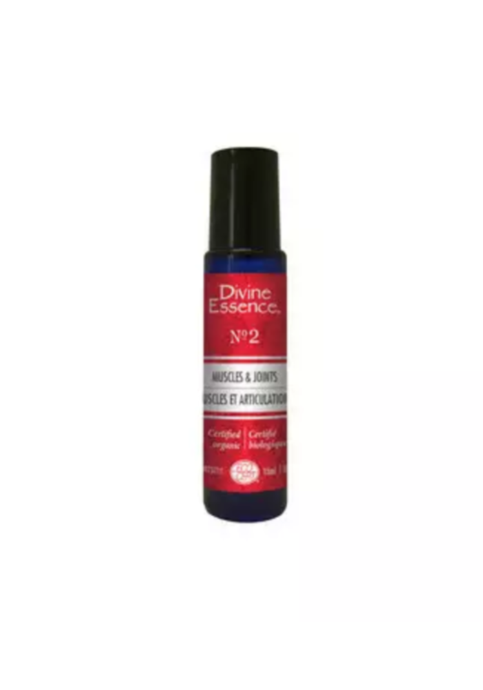 Divine Essence - Formule 2 - Muscles et articulations Roll-on  15ml