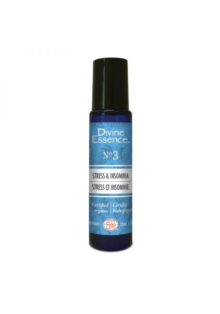 Divine Essence - Formule 3 - Stress et insomnie Roll-on 15ml