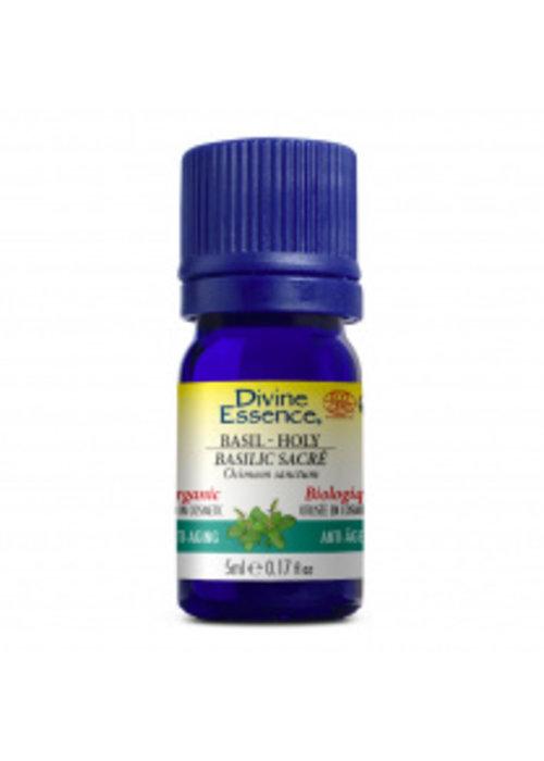 Divine essence Divine essence - Huile essentielle bio - Basilic sacré 5ml