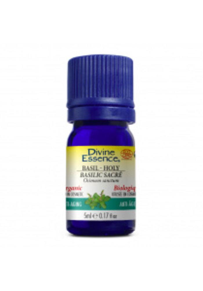 Divine essence - Huile essentielle bio - Basilic sacré 5ml