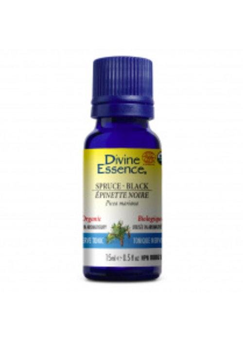Divine essence Divine Essence - Huile essentielle bio - Épinette noire  15ml