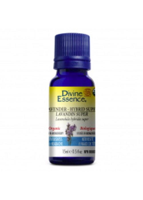 Divine essence Divine Essence - Huile essentielle bio - Lavande super  15ml