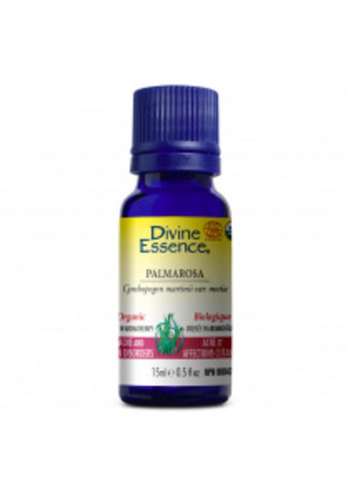 Divine Essence - Huile essentielle bio - Palmarosa  15ml