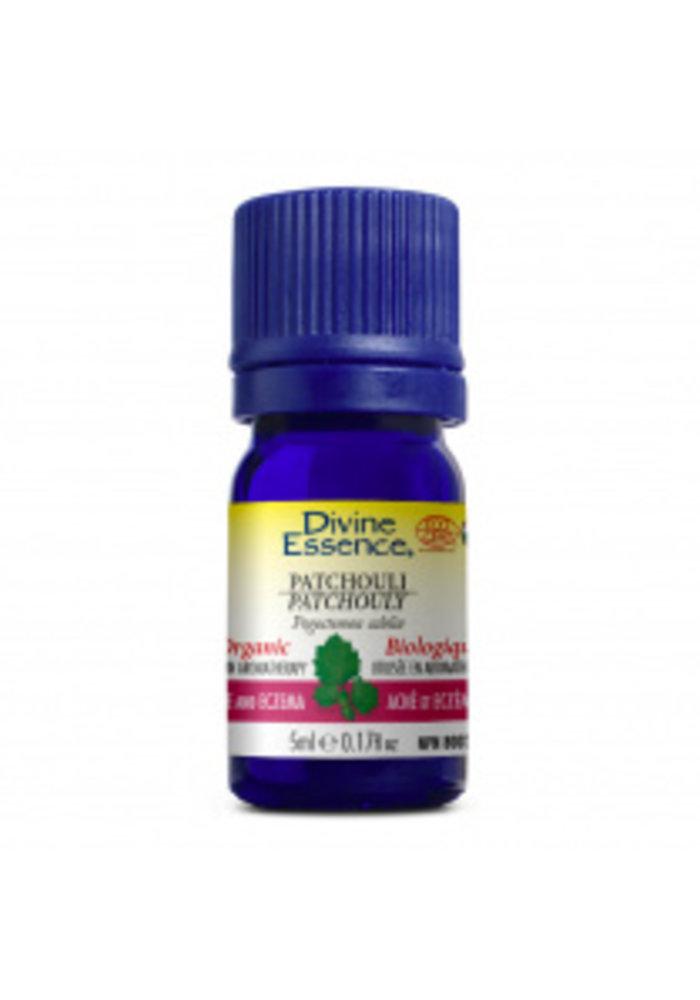 Divine Essence - Huile essentielle bio - Patchouli  5ml