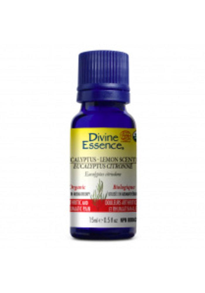 Divine essence - Huile essentielle eucalyptus citronné 15 ml