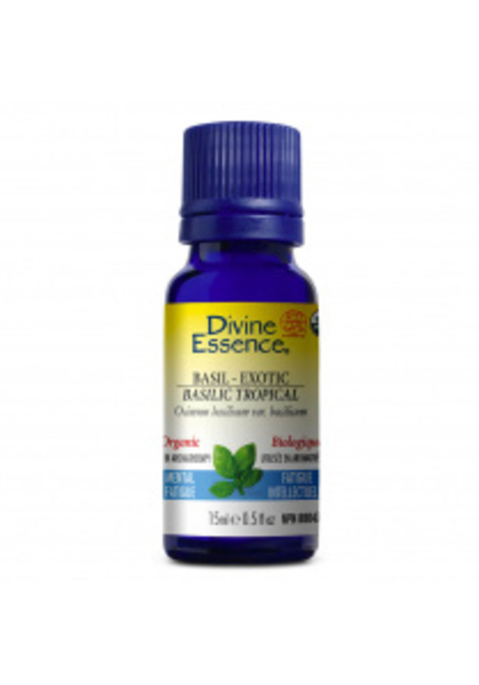 Divine essence - Huile essentielle - Basilic Tropical 15 ml