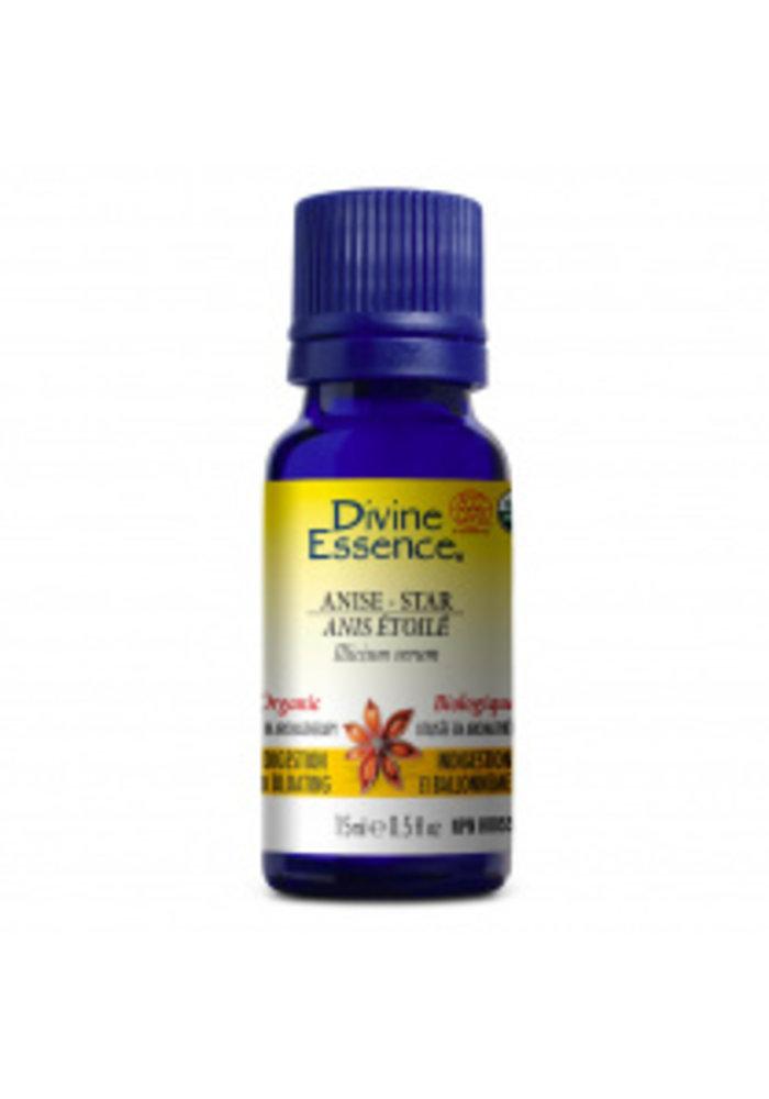 Divine essence - Huile essentielle - Anis Étoilé 15 ml