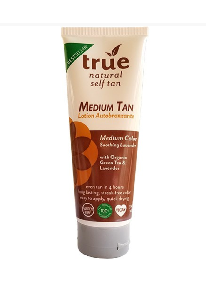 True  Natural - Lotion Autobronzante -  Medium 100 ml