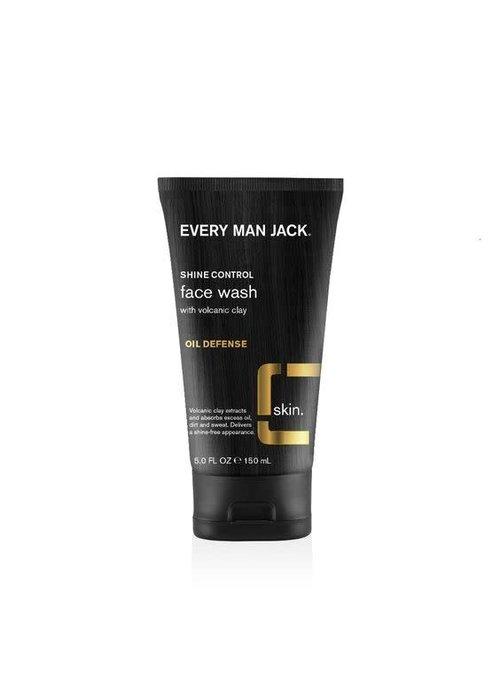 Every Man Jack Every Man Jack - Nettoyant visage argile volcanique anti-huile 150 ml