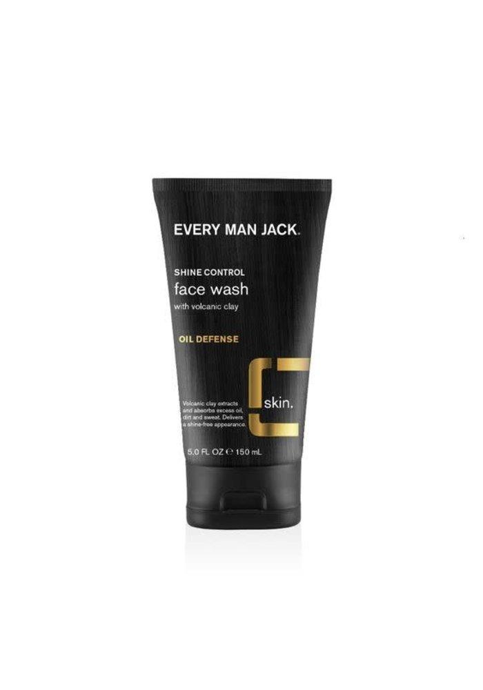 Every Man Jack - Nettoyant visage argile volcanique anti-huile 150 ml