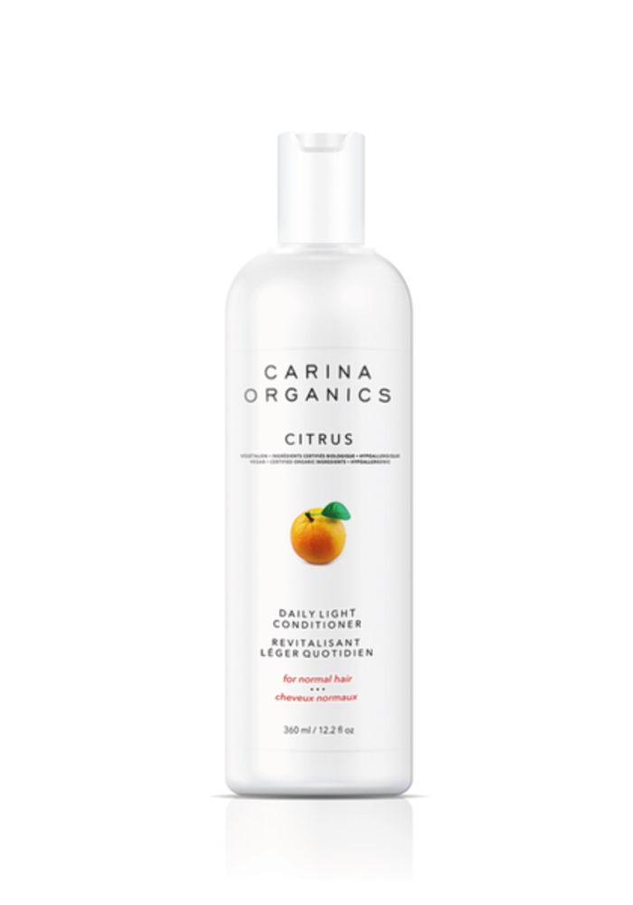 Carina - Revitalisant quotidien léger Citrus 360ml
