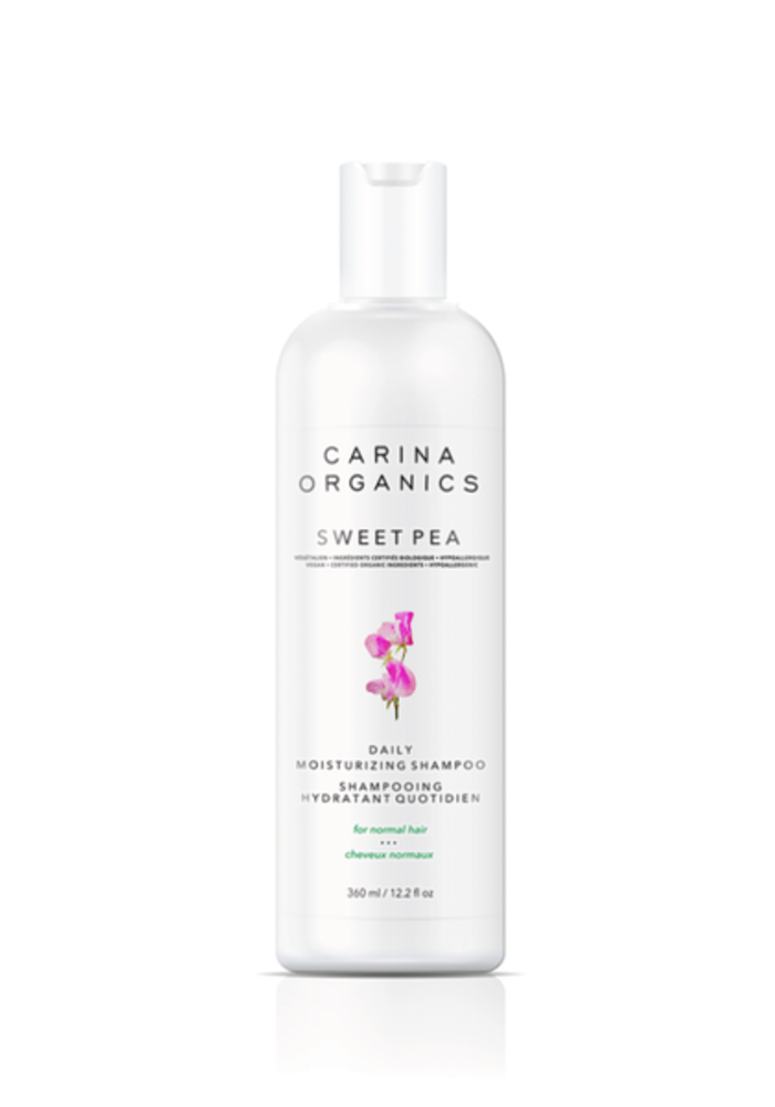 Carina - Shampooing hydratant quotidien sweet pea 360ml