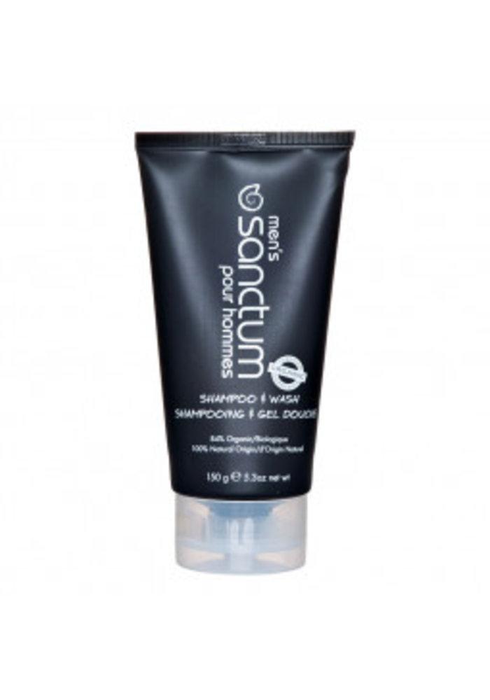 Sanctum - Shampoing et gel douche bio 150g