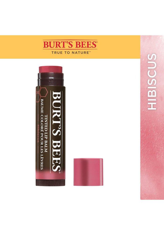 Burt's Bees - Baume à lèvres coloré - Hibiscus