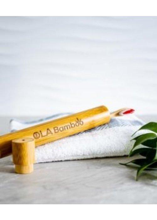 Ola Bamboo Ola bamboo - Étui de voyage Brosse à dent en bambou