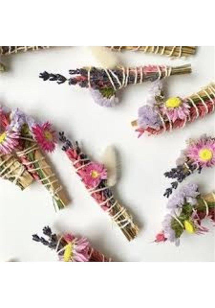 Bâton Palo Santo et Fleurs séchées