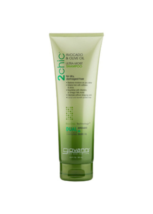 Giovanni Giovanni - Shampoing ultra hydratant Avocat et huile d'olive 250ml
