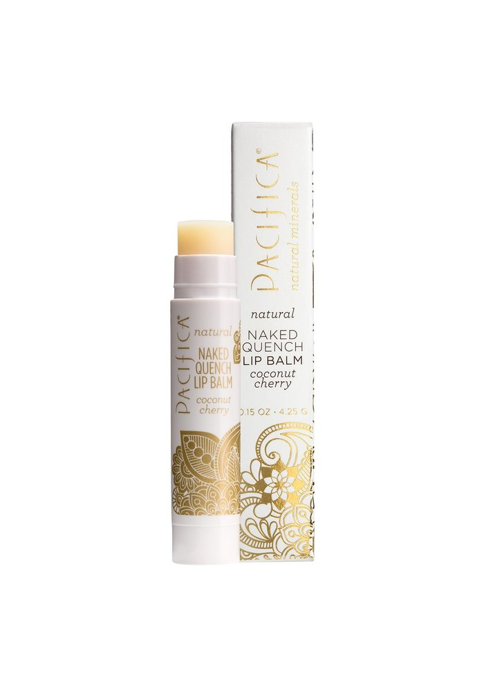 Pacifica - Naked Quench Lip Balm - Coconut Cherry