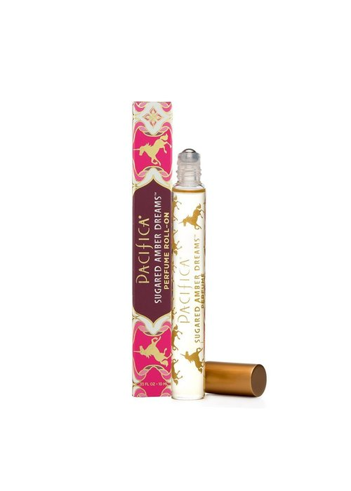 Pacifica Pacifica - Parfum Roll-on Sugared Amber Dreams .33oz