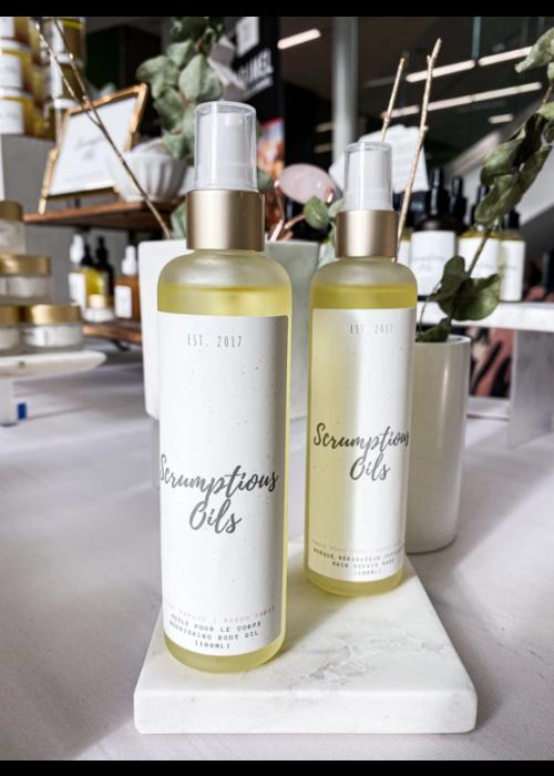 Scrumptious Oils Scrumptious Oils - Huile nourrissante pour le corps - Orange Gingembre 150ml