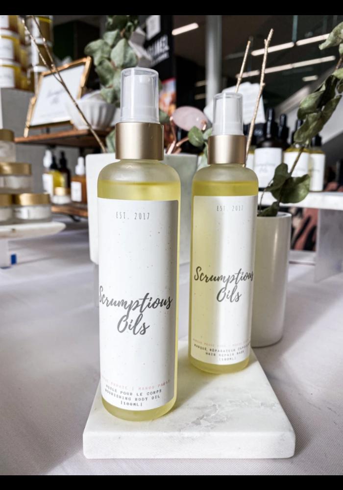 Scrumptious Oils - Huile nourrissante pour le corps - Orange Gingembre 150ml
