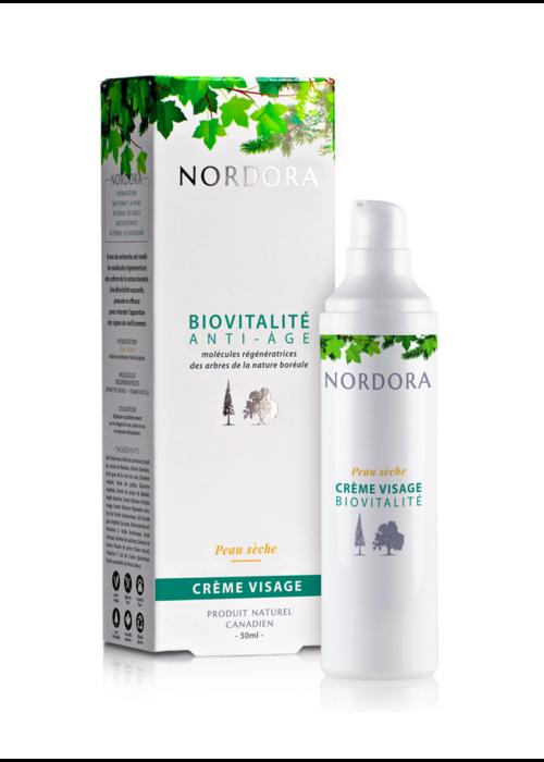 Nordora Nordora - Biovitalité anti-âge crème visage peau sèche 50ml