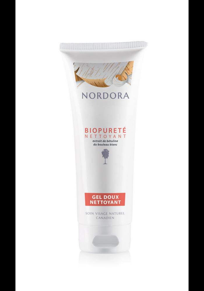 Nordora - Biopureté bouleau blanc gel doux nettoyant 180ml