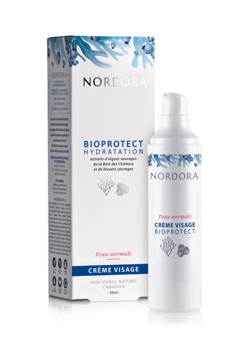 Nordora Nordora - Bioprotect hydratation crème visage peau normale 50ml