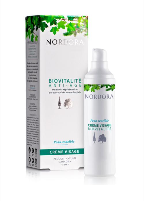 Nordora Nordora - Biovitalité anti-âge crème visage peau sensible 50ml