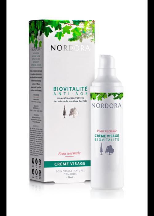 Nordora Nordora - Biovitalité anti-âge crème visage peau normale 50ml