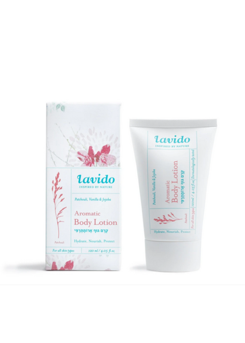 Lavido Lavido - Lotion aromatique corps - patchouli et vanille 120 ml
