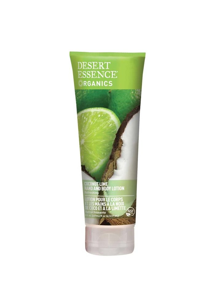 Desert Essence - Lotion main et corps - Coconut Lime