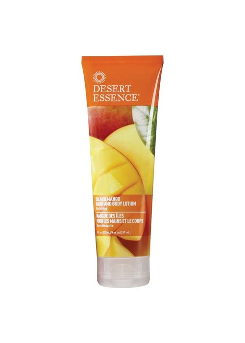 Desert Essence Desert Essence - Lotion main et corps - Island Mango 237 ml