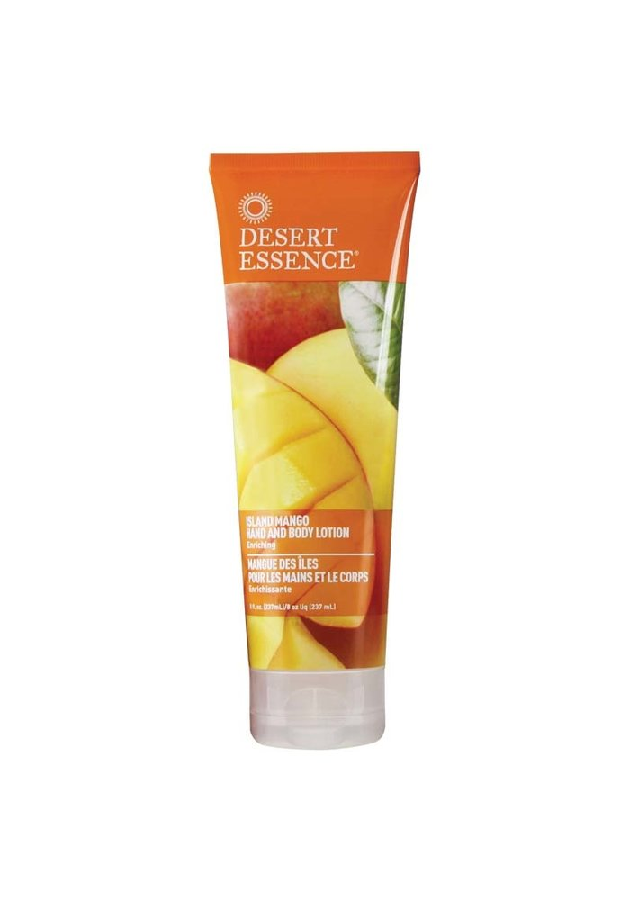 Desert Essence - Lotion main et corps - Island Mango 237 ml