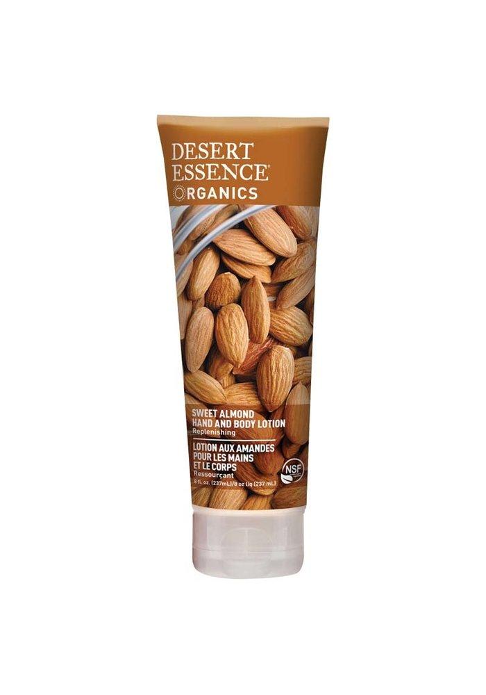 Desert Essence - Lotion main et corps - Amande 237 ml