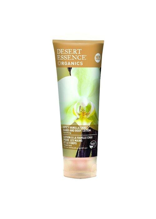 Desert Essence Desert Essence - Lotion main et corps - Vanille chai 237 ml